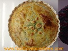 SPINACH FETA AND PARMESAN PIE