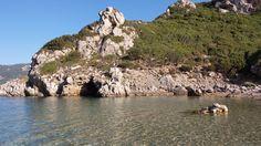 Afionas, Kerkyra Corfu, Athens, Greece, Water, Outdoor, Greece Country, Gripe Water, Outdoors, Outdoor Games