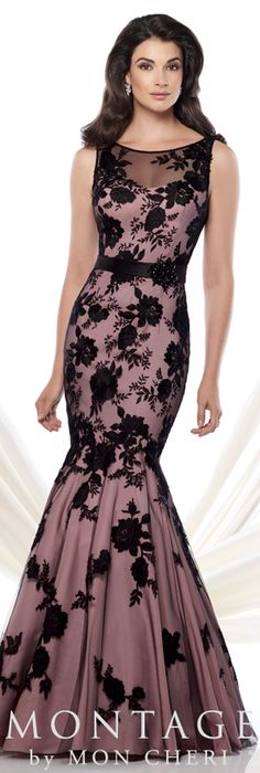 Montage by Mon Cheri Mother of the Bride Dress 115961 Evening Dresses, Prom Dresses, Formal Dresses, Beautiful Gowns, Beautiful Outfits, Elegant Dresses, Pretty Dresses, Lace Dress Black, Spring Dresses