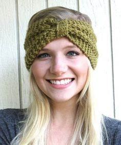 Take a look at this Olive Knit Headband on zulily today!
