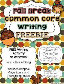 2nd Grade Stuff: I'm Back from Fall Break... with a FREEBIE!