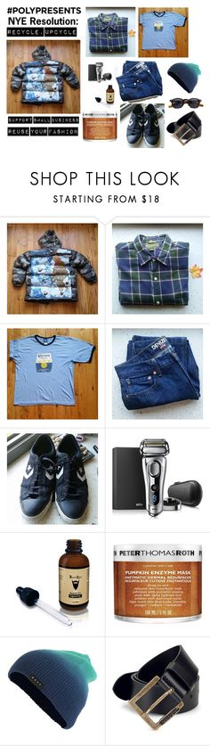 """""""#PolyPresents: New Year's Resolutions"""" by sebmarketbk ❤ liked on Polyvore featuring Braun, Peter Thomas Roth, Neff, Diesel, Jacques Marie Mage, men's fashion, menswear, contestentry and polyPresents"""