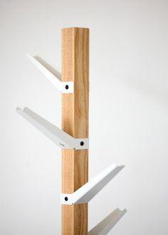 pedersen + lennard - tree coat stand