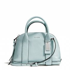 I get a lot of compliments in this bag $258 Coach :: BLEECKER MINI PRESTON SATCHEL IN PEBBLED LEATHER