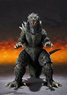 Godzilla Figures, Godzilla Toys, American Express Centurion, Sh Monsterarts, Sculptures, Lion Sculpture, Latex Hood, Cultura Pop, King Kong