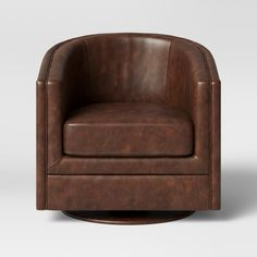 Latest Chairs For Living Room Leather Swivel Chair, Swivel Barrel Chair, Wood Arm Chair, Leather Lounge, Leather Chairs, Used Chairs, Patio Chairs, Arm Chairs, Swing Chairs