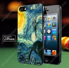 Starry Night  Nightmare Before Christmas case for iPhone 4, 4S, 5, 5S, 5C and Samsung Galaxy s2, s3, s4