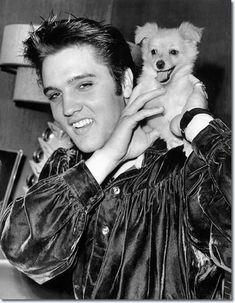 Elvis Presley and 'Sweet Pea' : October 18, 1956.