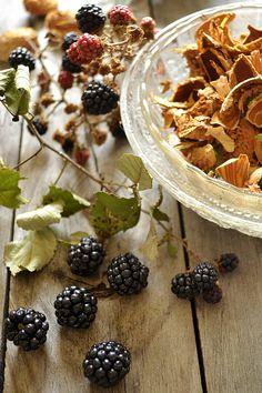 Superbe photo pour le thème du MM#38 Muffins aux mûres par Kaderick : http://www.kaderickenkuizinn.com/2013/09/muffins-fruits-rouges-donna-hay/   Photo-mures-apres-cueillette.jpg (630×945)