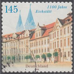 2008 Eichstätt - Residence Square and Cathedral 145ct SG3515 Used
