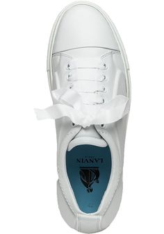 Buy Lanvin Women's Low Top White Leather Sneaker, starting at $297. Similar products also available. SALE now on!