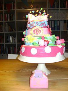 Sweet 16 taart