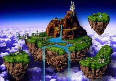 The Kingdom of Zeal ('Chrono Trigger') | 10 fictional places we'd ...