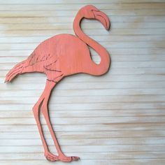 Flamingo Wooden Wall Art Pink Flamingo Coral by SlippinSouthern, $79.00  https://www.etsy.com/listing/129258292/flamingo-wooden-wall-art-pink-flamingo?ref=shop_home_active