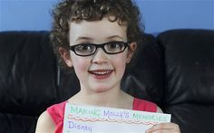 Molly Bent, from Manchester, was born with perfect eyesight but was diagnosed with retinitis pigmentosa, a degenerative eye disease for whic...