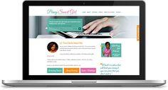 Penny Smart Girl Website | Custom Design + Development: http://pennysmartgirl.com/