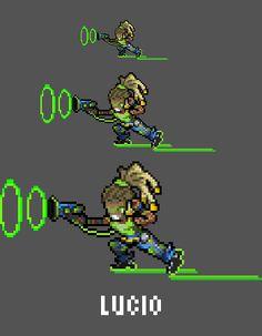 [Pixel Art] - Lúcio Correia dos Santos Overwatch Sprite Twitter: pic.twitter.com/OOGxzbwMlZ