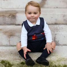 Prince George Christmas Photos - Harper's BAZAAR Magazine