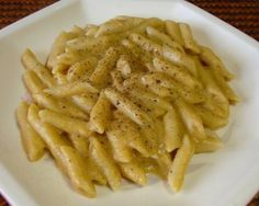 Pasta with Creamy Pumpkin Sauce #vegan