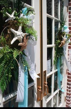 Coastal Christmas Wreath Decorations