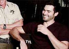 "SimplyClaret — ""Hoechlin is nothing like Derek."" - Jeff Davis"