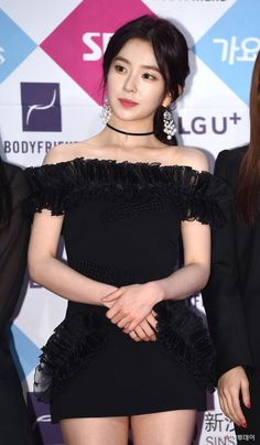 Netizens Name Red Velvet Irene As `Black Dress Goddess`! - Daily K Pop News Trendy Dresses, Sexy Dresses, Short Dresses, Casual Dresses, Prom Dresses, Seulgi, Irene, Korea Dress, Black Velvet Dress