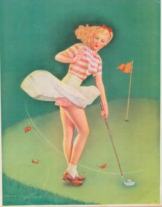 Golf Tips That Anyone Can Start Practicing Today. Globally, a lot of people look to golf for relaxation, fun, or to compete against your buddies. If you get some good knowledge about how to get a better ga Golf Attire, Golf Outfit, Girls Golf, Ladies Golf, Golf Images, Golf Art, Golf Theme, Vintage Golf, Golf Quotes