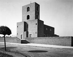 Clemens Holzmeister | Katholische Pfarrkirche | Mönchengladbach-Waldhausen (1933) | Hugo Schmölz