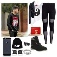 Zayn girl (date w/ Zayn) by sudachikotarou on Polyvore featuring polyvore, fashion, style, Boohoo, Balenciaga, Timberland, Eva Fehren, Whistles and Minnie Grace