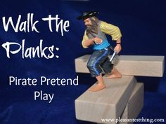 Pirate Pretend Play ideas