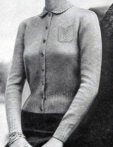 Scotch Mist knit pattern from Hand Knit Fashions, originally published by Bernhard Ulmann Co, Volume No. 341, in 1950.