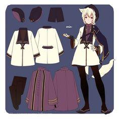 -_-前面5个是PFNW时候的服饰设定【...