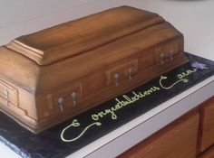 CONFESSIONS OF A FUNERAL DIRECTOR » Serving Up the Ultimate Collection of Death Cakes Funeral Cake, Funeral Party, Adult Birthday Cakes, 40th Birthday, Funeral Reception, 3d Cakes, Ultimate Collection, Halloween Cakes, Pastel
