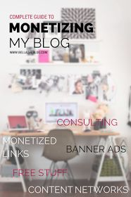 How I get paid to blog: a complete guide to monetization witha list of networks to join that will pay you to create content - so useful!