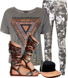 """""""Aztecs"""" by mindless-sweetheart ❤ liked on Polyvore"""