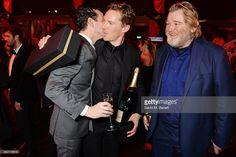 ニュース写真 : Andrew Scott, Benedict Cumberbatch and Brendan...