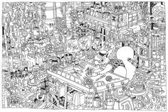 https://flic.kr/p/8ScVcP | The workshop | Mr Munts the Inventor works busily in his overcrowded workshop creating his newest and most exciting invention yet...