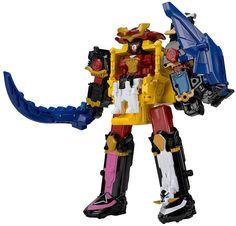 Legacy Ninja Steel Megazord Mighty Morphin Power Rangers Figure #Transformers