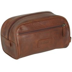 Barbour Leather Wash Bag - £69.95 | Barbour Bags & Briefcases
