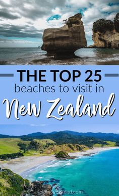 25 Best Beaches in New Zealand – An Insider's Guide! We've compiled all of New Zealand's best beaches into one epic list for you! Discover the very best NZ beaches in both the North & South Islands. Brisbane, Melbourne, Sydney, Destin Beach, Beach Trip, Beach Travel, Visit Australia, Australia Travel, New Zealand Itinerary