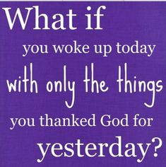 good food for thought #Gratitude