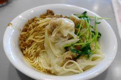 ワンタン専門店「奇福扁食」で、ぷりっぷりの海老ワンタン!