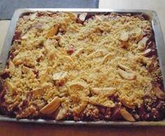 Rezept Rhabarber-Streuselkuchen von pummelschnecke - Rezept der Kategorie Backen süß