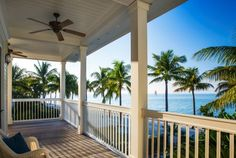 Four Bedroom Cottage Balcony | Sunset Key Cottages, a Luxury Collection Resort