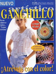Ganchillo artístico nº 255. Abril 1998 - Eva Gómez - Picasa Web Albums