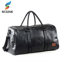 344dd2f52c0  Click Image to Buy  2017 Top Quality PU Unisex Sport Gym Bag For Men Women  with Independent shoes Travel Training Fitness Bag Portable Shoulder Bag ...