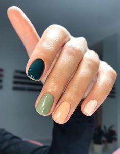 Nail Manicure, Gel Nails, Acrylic Nails, Shellac, Stylish Nails, Trendy Nails, Multicolored Nails, Nagellack Design, Fire Nails