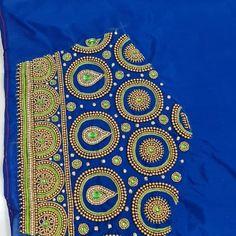 Black Blouse Designs, Sari Blouse Designs, Bridal Blouse Designs, Hand Designs, Flower Designs, Handmade Embroidery Designs, Mirror Work Blouse Design, Maggam Work Designs, Fabric Paint Designs