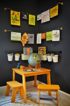 If you have a little one at home, you probably have a mountain of artworks you don't know what to do or how to display. Here are 10 creative ways you can turn your child's artworks into a beautiful home decor. Photo by Etch Design Lab – More traditional kids' room photos Photo by Sarah...Read More »