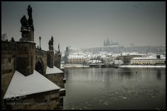 winter Prague by amatverny #architecture #building #architexture #city #buildings #skyscraper #urban #design #minimal #cities #town #street #art #arts #architecturelovers #abstract #photooftheday #amazing #picoftheday
